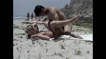Beach sex vids free Public-beachsex