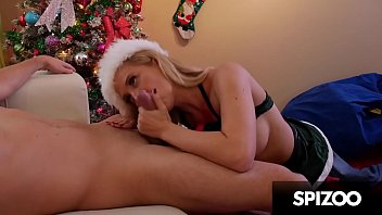 Hot steamy Christmas fuck session with Cherie DeVille - Spizoo