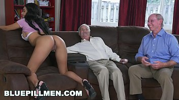 Men adn women having sex - Blue pill men - a couple of old men have fun with young black goddess aaliyah hadid