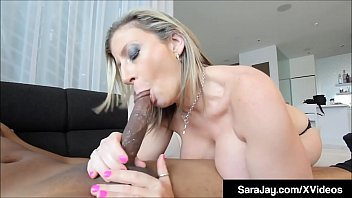 PAWG Milf Sara Jay Gets Pussy Pounded By Big Black Cock!