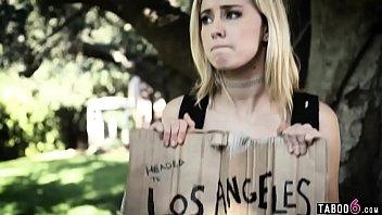 Band members double pussy fuck run away teen blonde