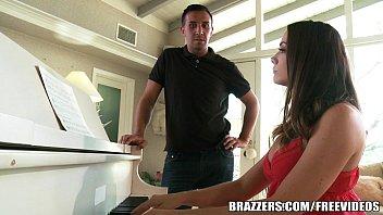 Brazzers - Pornstar takes dick over piano any-day 7 min