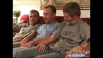 Gay kinky older men galleries - Hairy older men sucking dick and having fun in threesome