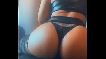 Oiling my ass