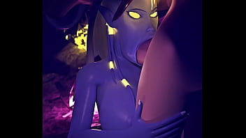 World of Warcraft Draenei sex with Elf