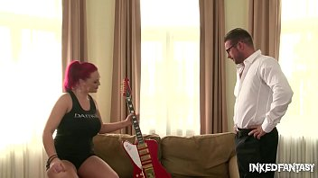 Inked Rock Groupie Paige Delight gets that Ass Fucked