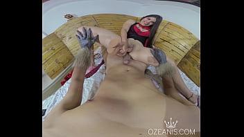 Caperucita roja POV footjob (Tatiana Morales)