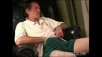 Feminine gay videos - Homemade video of mature amateur ron jacking off