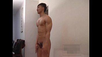 handsome asian model