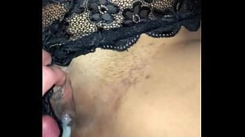 Creampie large tits