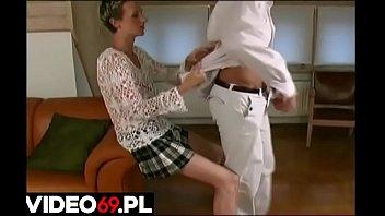 Polskie porno - Podrywacz zalicza niezdobytą laskę