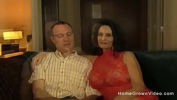 Hot Amateur Granny Sucking And Fucking A Younger Guy