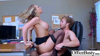 Intercorse In Office With Big Melon Tits Amazing Girl (Kagney Linn Karter) vid-30
