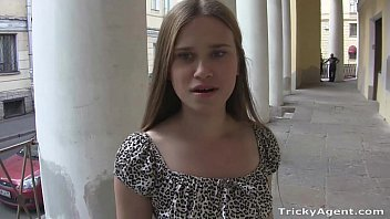 Long hairdos for teens Tricky agent - blondy emma with a perfect ass in a tiny dress