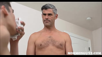 Mormon gay porn - Mormon father and son
