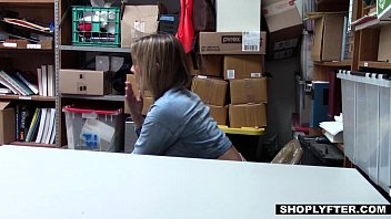 Shoplyfter - Scammer Teen (Blair Williams) Fucked By Older Detective