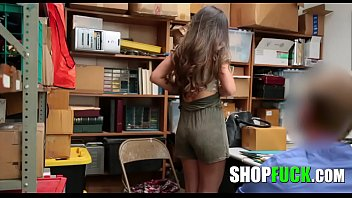 Teen Thief Was Fucked For Stealing Underwear - SHOPFUCK