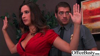 (Ashley Adams) Girl With Round Big Tits In Hard Style Sex In Office clip-03