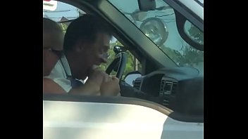 Man Gets Caught Slipping In Traffic Sucking On His Wife Feet!