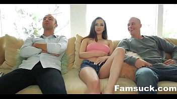 Best friends trick step sis into brotherly gangbang  |FamSuck.com