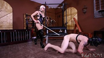 Clubdom Mistress Breaks In Her Slaves Asshole