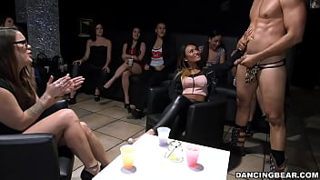DANCING BEAR - Sophia Torres, Gia Paige, Skyler Luv And More At Wild CFNM Party