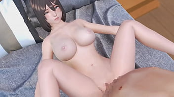 3D Step Brother Takes advantage of Little Sister | Porno Game