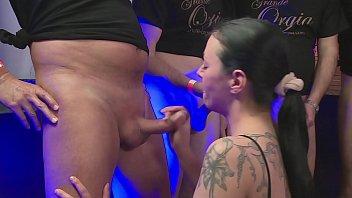 Sex Orgie - Hart und heftig gefickt - Bukkake 33 min