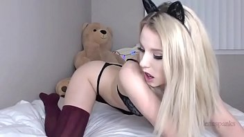 Streaming Video LENASPANKS | Horny Kitty Cam Girl, Anal, Buttplug Tail - XLXX.video