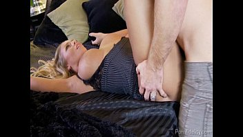 Blonde Supermodel Nicole Aniston Gets Her Tight Hole Fucked