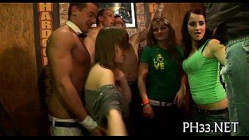 Strumpets watching undress