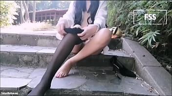 FSSZX888 Exposing and Masturbating in the Park