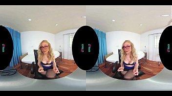 VRHUSH Sex lessons and JOI with mature Nina Hartley thumbnail