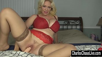 Mature sex live cams - Toy time for blonde big tit milf charlee chase