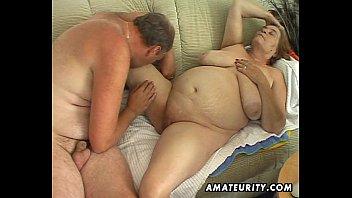 Chubby mature amateur wife sucks and fucks