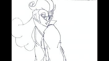 La fantasia de leopold animatic en sketch