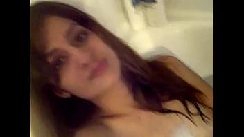 indian girlfriend nude bath
