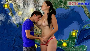 Arleta sexy weather woman Slut weather-girl gets fucked by tv assistant