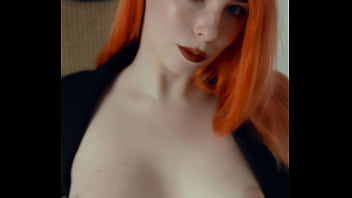 Redhead secretary knows what you want - VERTICAL - MollyRedWolf