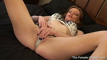 Redhead MILF Masturbates To Spectacular Pulsing Orgasm Then Goes For Seconds