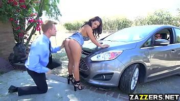 Bill Bailey Screwing Keisha Grey Doggy While Sucking Bill Bailey