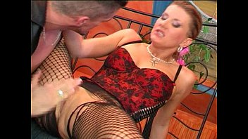 Clip sex Blonde whore getting fucked in stocking