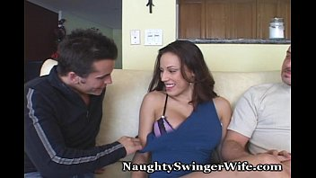 Streaming video of amateur swingers - Wife fucks right in front of encouraging hubby