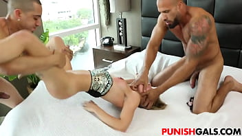 Brat Sydney Cole gets DP destroyed porno izle