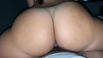 Big round ass filmed pov