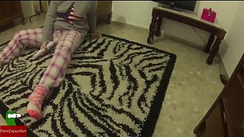 Playing with the dildo on the carpet IV 042 26 min