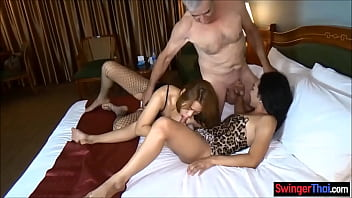 Amateur couple invites ladyboy for a threesome fuck
