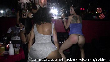 Running scared stripper Strippers getting naked in vip