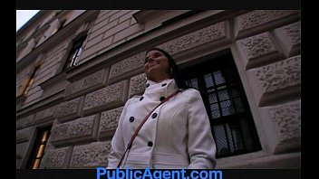 Publicagent Agata Stunning Foxy Blue Eyed Brunette
