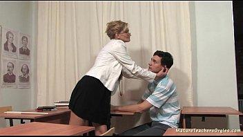 Russian mature teacher 3 - Natalia (history lesson)